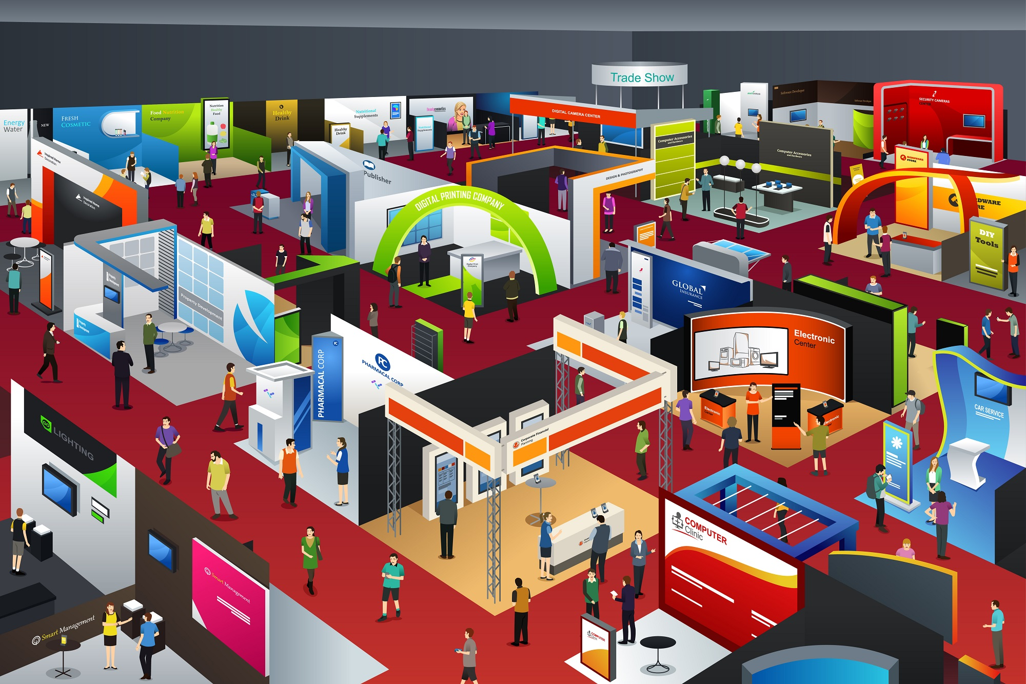 5 Reasons to Use An Exhibition Finding Agency